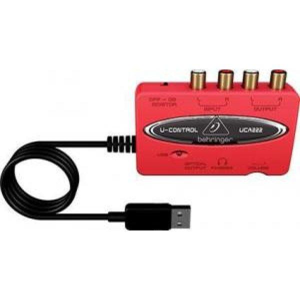 Interfata USB/RCA Conectare PC- Amplificator