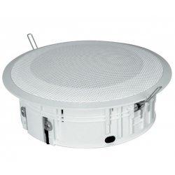 Difuzor tavan fals, 6 W / 100 V, ABS ( UL94-HB ) alb, IP 44, DL-P06-165/T, IC Audio