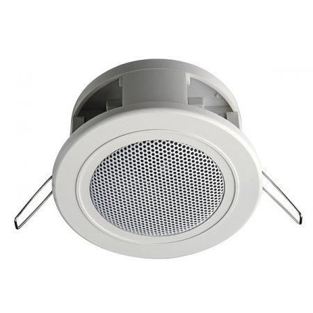 Difuzor mini tavan fals, 6 W / 100 V, ABS, alb,  DL06-66/T, IC Audio