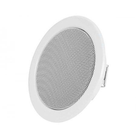Difuzor tavan fals 10 W / 100 V, metal, RAL 9010, DL10-165/T, IC Audio