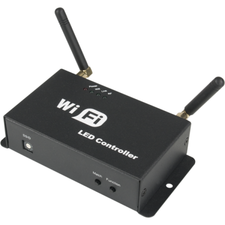 Interfata de control Wi-Fi pentru banda LED RGB, LSWIFI, MUSIC & LIGHTS