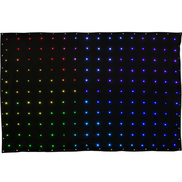 Cortina flexibila cu led VIRTUALDRAPE Music&Lights