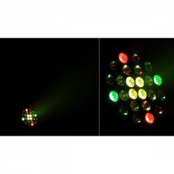 Proiector Par Arhitectural cu Efecte & Jocuri Lumini, Animatii, SUNPIX 24TRI