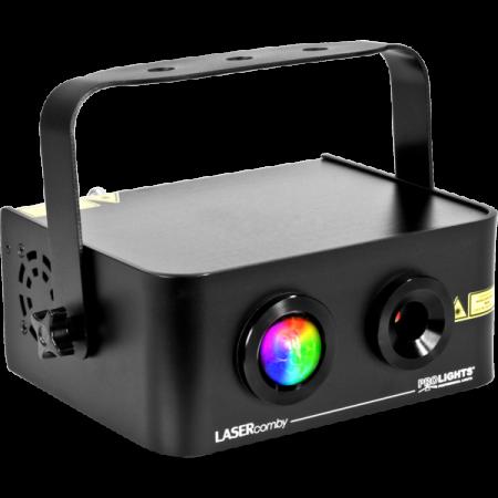 LASERCOMBY - Proiector laser cu efect de miscare in club si discoteca