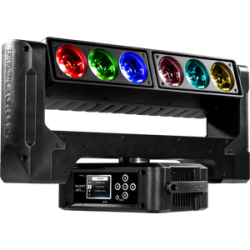 Moving head RGB AIR6PIX Music and Lights