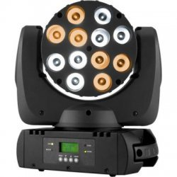 Lumini Disco Moving Head cu Dimmer Liniar, Efecte Strobe, ELFIN VW
