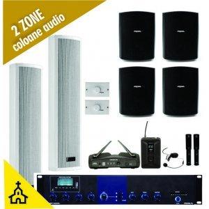 Sistem audio complet sonorizare biserica