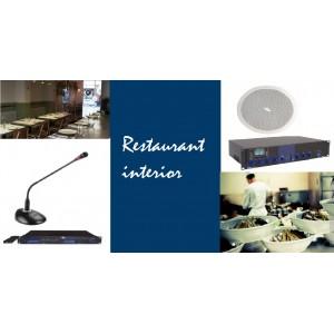 Pachet de sonorizare ambientala si anunturi pentru restaurant