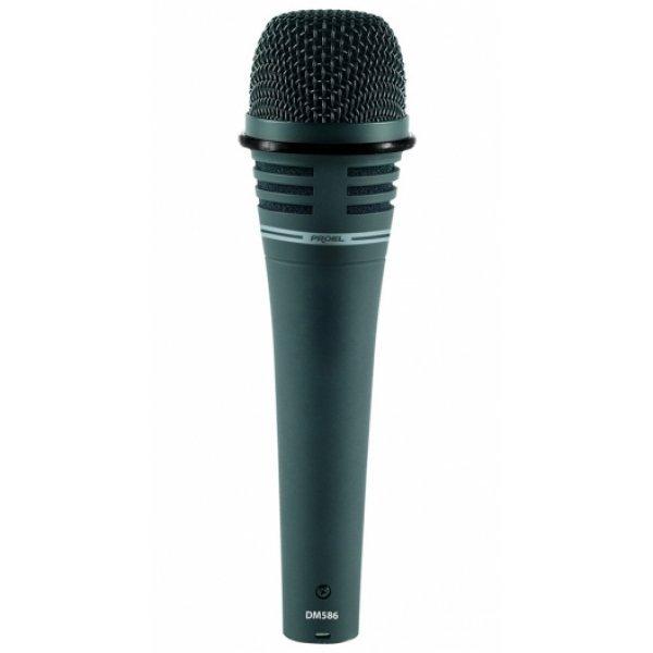 Microfon Dinamic Super Cardioid pentru Voce, Instrumente, DM586, Proel