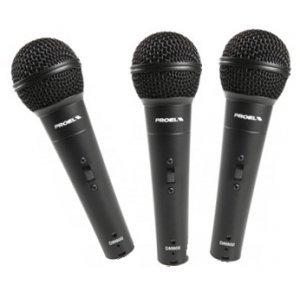 Set 3 Microfoane dinamice voce DM800KIT 3, Proel