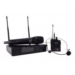 Sistem microfon wireless UHF PLL, RMW821H, Proel