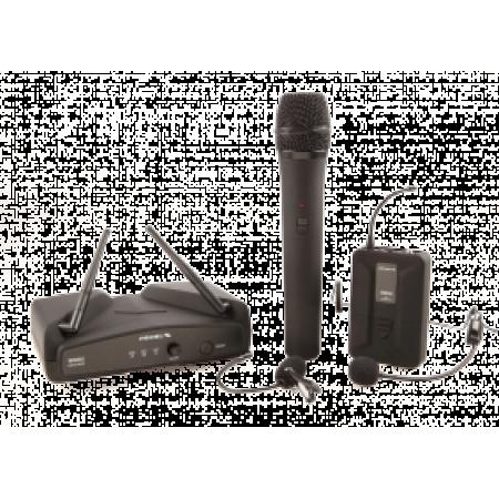 Microfoane Wireless – Microfon de Mana, Lavaliera, Casca, WM202 KIT, Proel