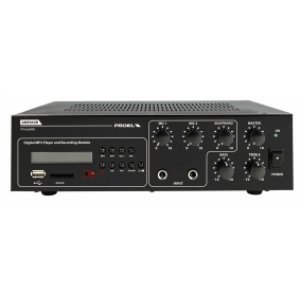 Mixer audio Amplificat, cu Player si Recorder Integrate, AMP03VR, Proel