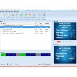 Software pentru aparatul de sondare a opiniei M10, STI