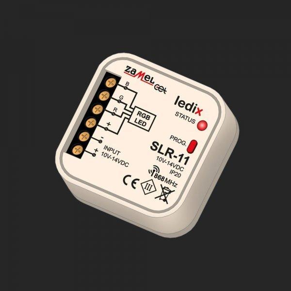 Controler  led RGB, radio - SLR–11, 10-14 V, Ledix