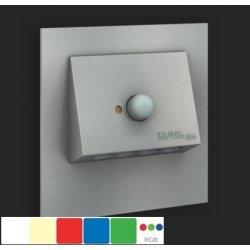 Lampa led NAVI - 230 V, senzor miscare+crepuscular, monocolor, montaj ingropat
