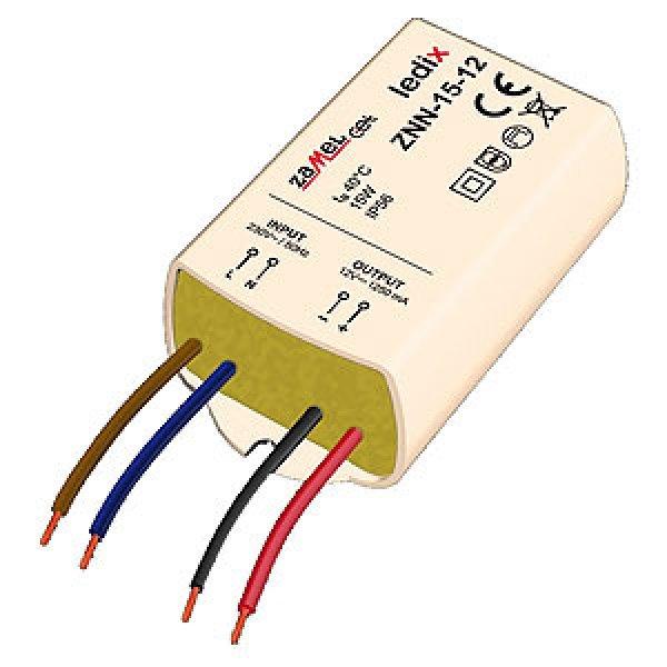 Sursa de alimentare LED-uri, 12VCC/15W, montaj aparent, ZNN-15-12
