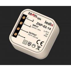 Sursa alimentare LED-uri, 14 V CC/ 2 W, incastrabila, ZNP-02-14