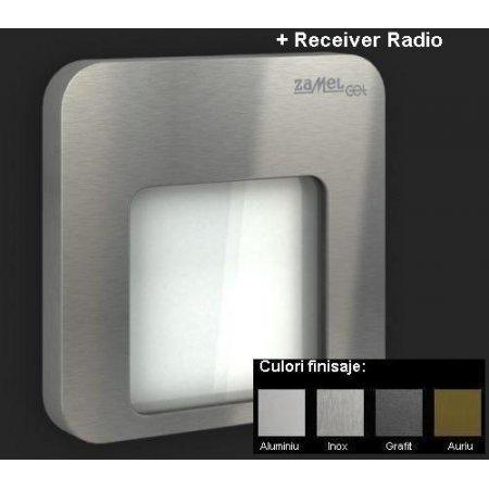 Moza Lampa LED - Monocolor + Receiver Radio, Alimentare 230V