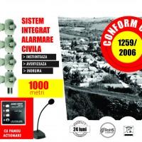 Incă trei primării echipate de Amro Grup cu sisteme de alarmare civilă
