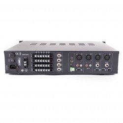 Amplificator audio  4 x 120 W, cu matrice rutabila si mediaplayer, MX4412, Master Audio