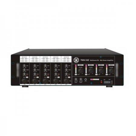 Amplificator cu mixer, 4 zone, 240W, 5 intrari, TPTMA54Z, TOPP PRO, Public Address