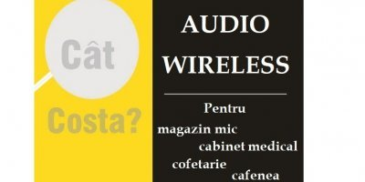 Cât costă un sistem audio wireless?