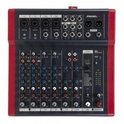 Mixer audio 4 MIC + 2 stereo, procesor efecte 24 bits, MQ10FX, Proel