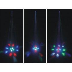 proiector led, proiector efect Colorful Mimosa, proiector led color rgbw, proiector efecte lumini cluburi si spectacole, Proel WAPS04, amro grup importator efecte lumini proel italia