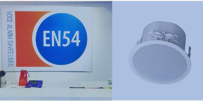 Difuzoarele EN54 de la IC Audio salveaza vieti!