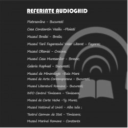 Audioghid cu inregistrare mp3 in  limbi multiple Happy Guide