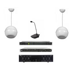 Instalatie sonorizare hala industriala maxim 500 mp (pachet)
