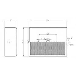 Difuzor Profesional pentru Montaj Aparent, WA-LR 06-165/T , Ic Audio