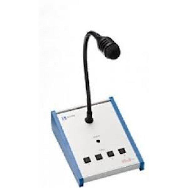 Baza Microfonica 4 Zone de Apel, EV-P4, IC Audio