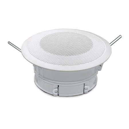 Difuzor tavan fals, 6 W / 100 V, ABS ( UL94-HB ) alb, IP 44, DL-P06-100/T, IC Audio