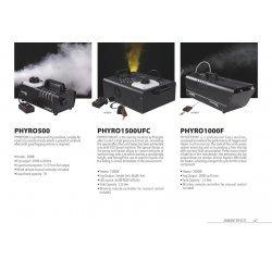 Masina efect de ceata, PHYRO1500UFC, Music & Lights