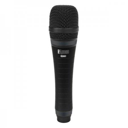 Microfon condenser cardioid cu fir P 865, Music & Lights, pentru live si studio