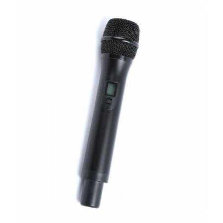 Emitator tip microfon de mana wireless, pentru  sistem interpretare sau ghidare, M07TEHandHeld