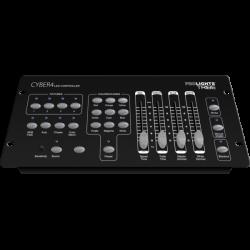Controller compact pentru DMX, CYBER4