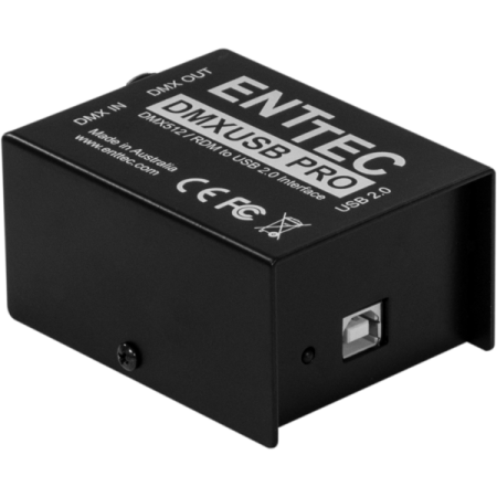 Interfata USB - DMX, in / out,ENTDMXUPRO, ENTTEC, Music & Lights