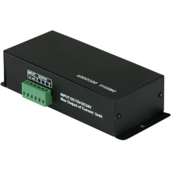 Interfata controller DMX pentru banda led, XLR 3p / input RJ45, LSDMX,Music & Lights
