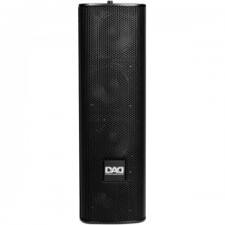 Coloana de sunet cu montare pe perete 100W ARK403MPBK, Music & Lights