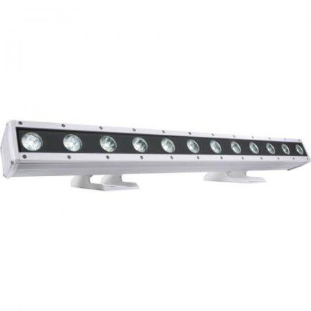 Corp Iluminat Arhitectural Exterior cu 12 LED-uri x 8W RGBW/FullColor, ARCSHINE12, MUSIC & LIGHTS