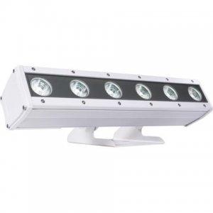 Corp Iluminat Arhitectural Exterior cu 6 LED-uri x8W RGBW/FullColor, ARCSHINE6, MUSIC & LIGHTS