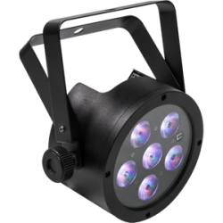 Proiector LED profesional RGB FLATPAR6H Music and Lights