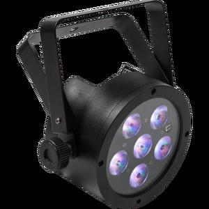 Proiector LED profesional RGB FLATPAR6H Music and Lights