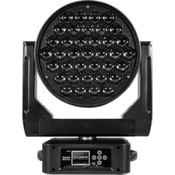 Moving head RGBW DIAMOND37 LED Music and Lights
