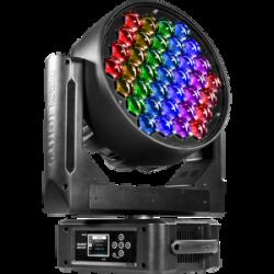 Moving head RGBW DIAMOND37 LED Music and Lights