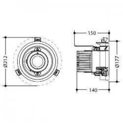 Proiector 1 led x10W (Alb Neutral), EOS101
