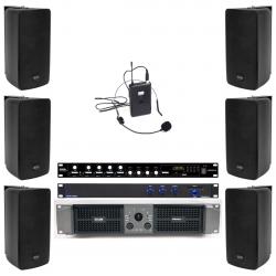 Pachet sistem audio sala fitness